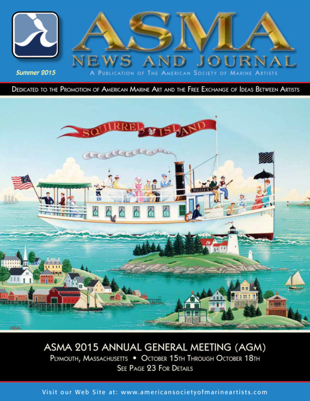 ASMA News Cover Summer 2015